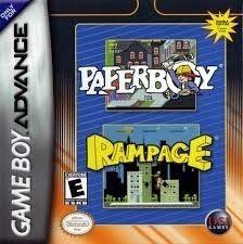 Paperboy/Rampage - Game Boy Advance Game