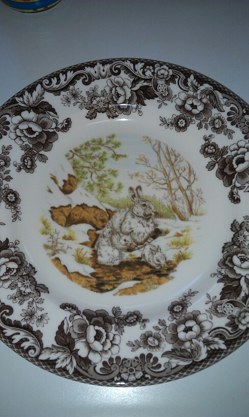 21 Best Images About Woodland Spode China Dishes On