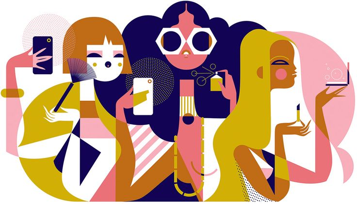 Beauty influencers for vogue japan on behance in 2020