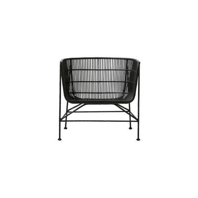 Coon lenestol fra House Doctor, en spesiell stol laget av rotting og jern. Dette gir stolen et veldi...