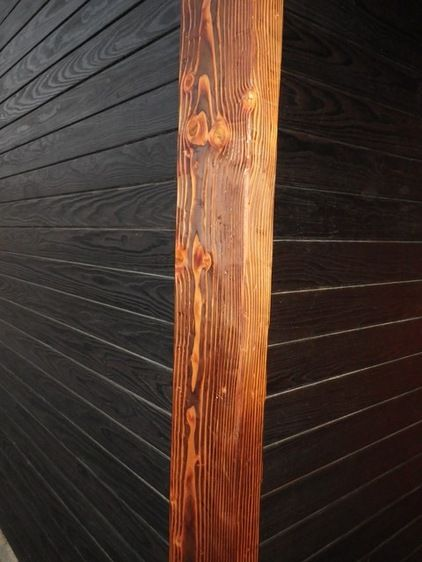 Shou-sugi-ban / Charred Wood Siding / Burnt Wood Siding