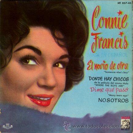 Connie Francis canta en español [Grabación sonora] / Connie Francis.-- Madrid : Hispavox - MGM, DL 1961. 1GS/M/7