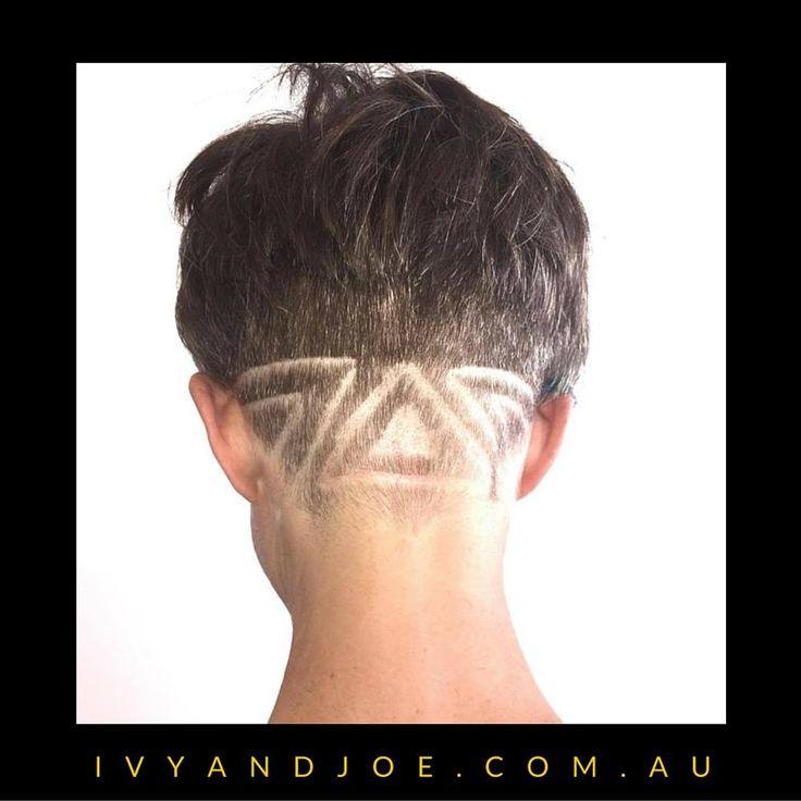 Shaved Hair Designs by Ivy and Joe Hair Studio in Bendigo