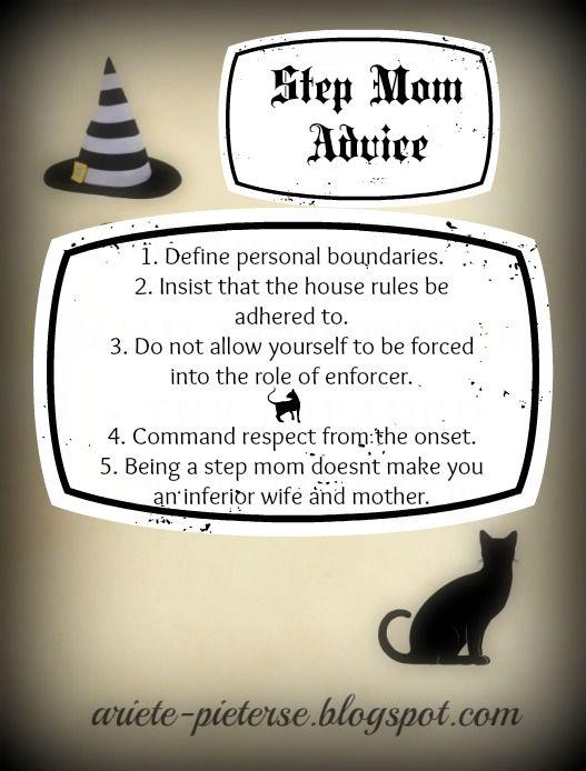 Step Mom Advice