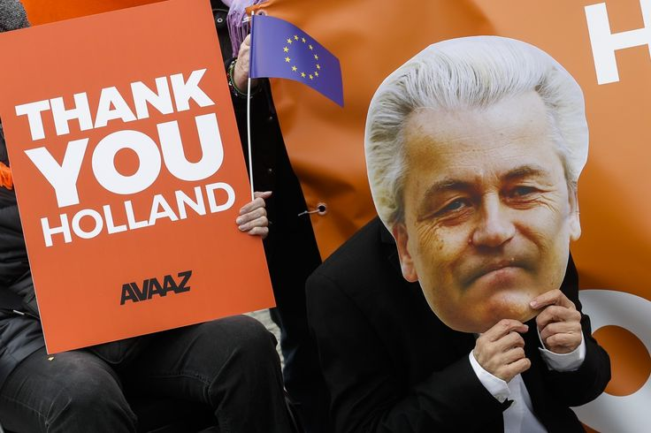 The Latest on the Dutch national election (all times local):