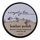 A natural leather cleaner, conditioner and preserver, this Simply Bee Leather Polish is natural and is made with Beeswax; propolis; sunflower oil and lemon essential oil.