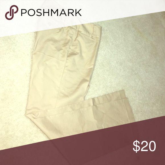 Kaki pants Kaki slacks Dana Buchman Pants Trousers