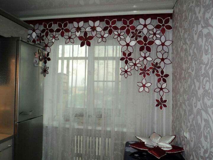 Gordyne baba kobersies pinterest curtain ideas for 3 window curtain design