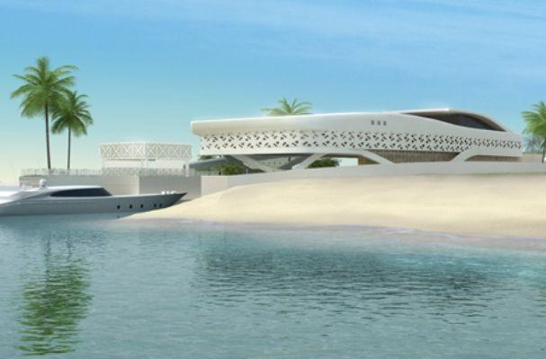 Futuristic homes FUTURISTIC BEACH  HOUSE