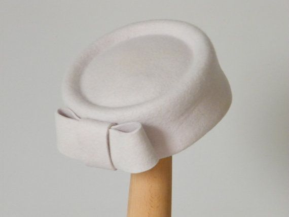 Jackie O hat / winter cocktail hat / Kate Middleton by RanaHats