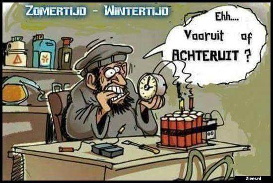 Zomertijd - Wintertijd