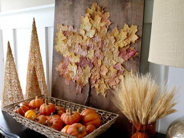 Oversize Leaf Artwork