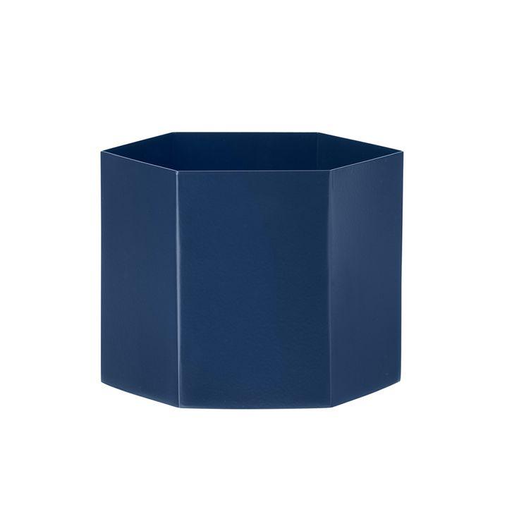 Hexagon Kruka XL, Blå, Ferm Living
