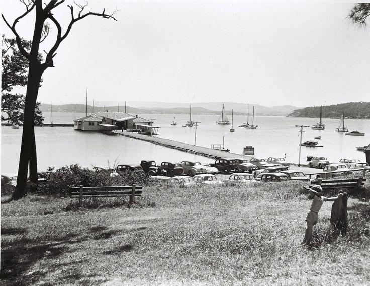Lake Macquarie Yacht Club, Ada Street, Belmont NSW. Possibly 1940s