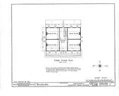 HABS LA,4-NAPO.V,1- (sheet 3 of 20) - Woodlawn Plantation, State Highway 77, Napoleonville, Assumption Parish, LA