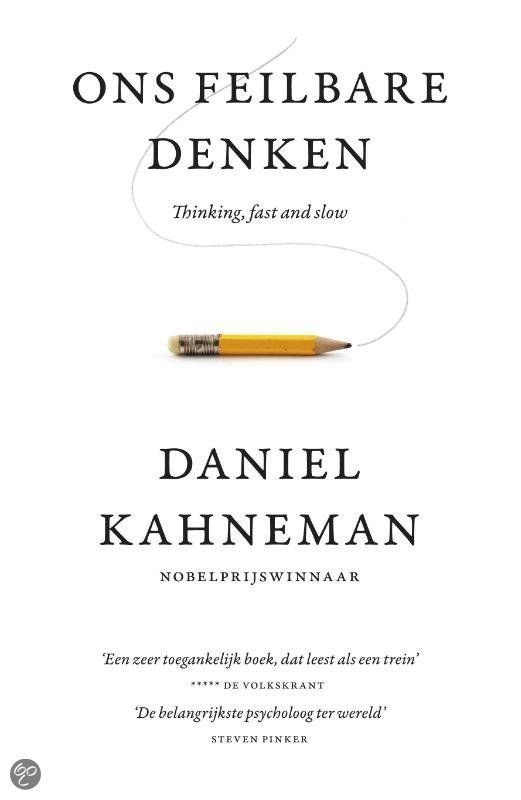 Ons feilbare denken Daniël Kahneman