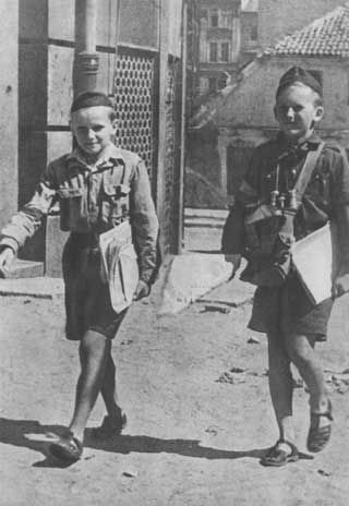While Germany occupied Poland from 1939-1945, a critical youth movement went underground along with the Polish Home army. The Polish Scouts, which had been founded in the early 20th century, became the Szare Szeregi, or Gray Ranks, training the next generation of soldiers and citizens.Above: Girl Scouts 1926. It is my sincere wish to serve...  Read more »