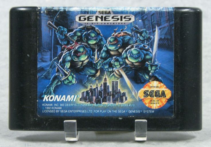111.4787: Sega Genesis Teenage Mutant Ninja Turtles: The Hyperstone Heist | video game | Console Games | Video Games | Online Collections | The Strong