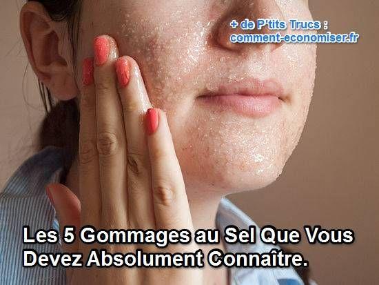 Un produit miracle me direz-vous ? Non juste un produit N.A.T.U.R.E.L ! Découvrez sans attendre les 5 meilleurs gommages au sel.  Découvrez l'astuce ici : http://www.comment-economiser.fr/les-5-gommages-au-sel-que-vous-devez-absolument-connaitre.html?utm_content=buffer845fd&utm_medium=social&utm_source=pinterest.com&utm_campaign=buffer