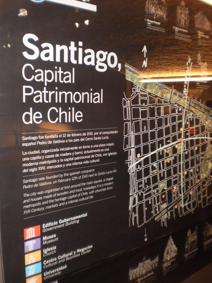 Gran infografía de Santiago