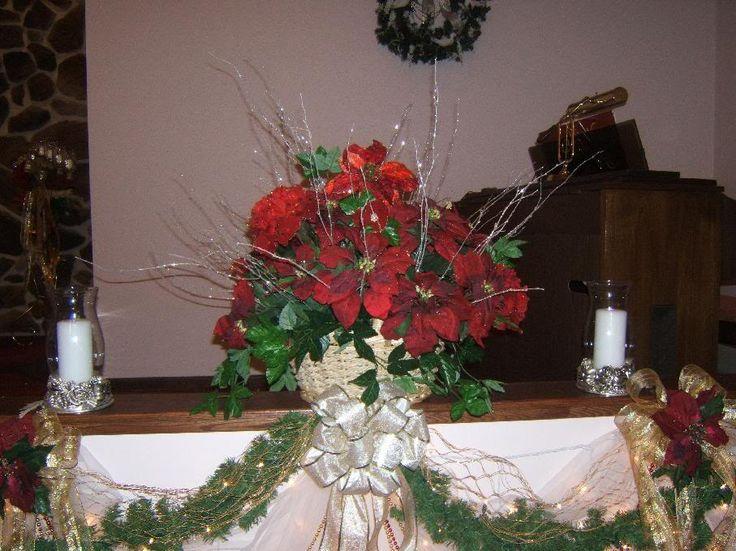 Christmas Fl Arrangements For Church Arrangement Images Pictures Graphics