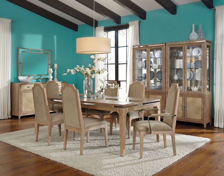 AICO Biscayne West Rectangular Leg Dining Set In Sand For 26 Years,  AICO/Amini Innovation Corp Has Been Known For Original, High Quality And  Intricately ...