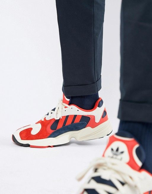 016f275b2497 adidas Originals Yung-1 Sneakers In White B37615 in 2019