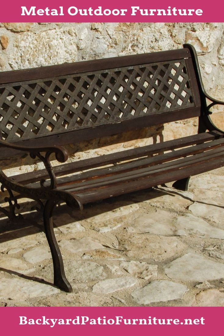 Wrought Iron Outdoor Furniture Is An Appealing Option As A Result