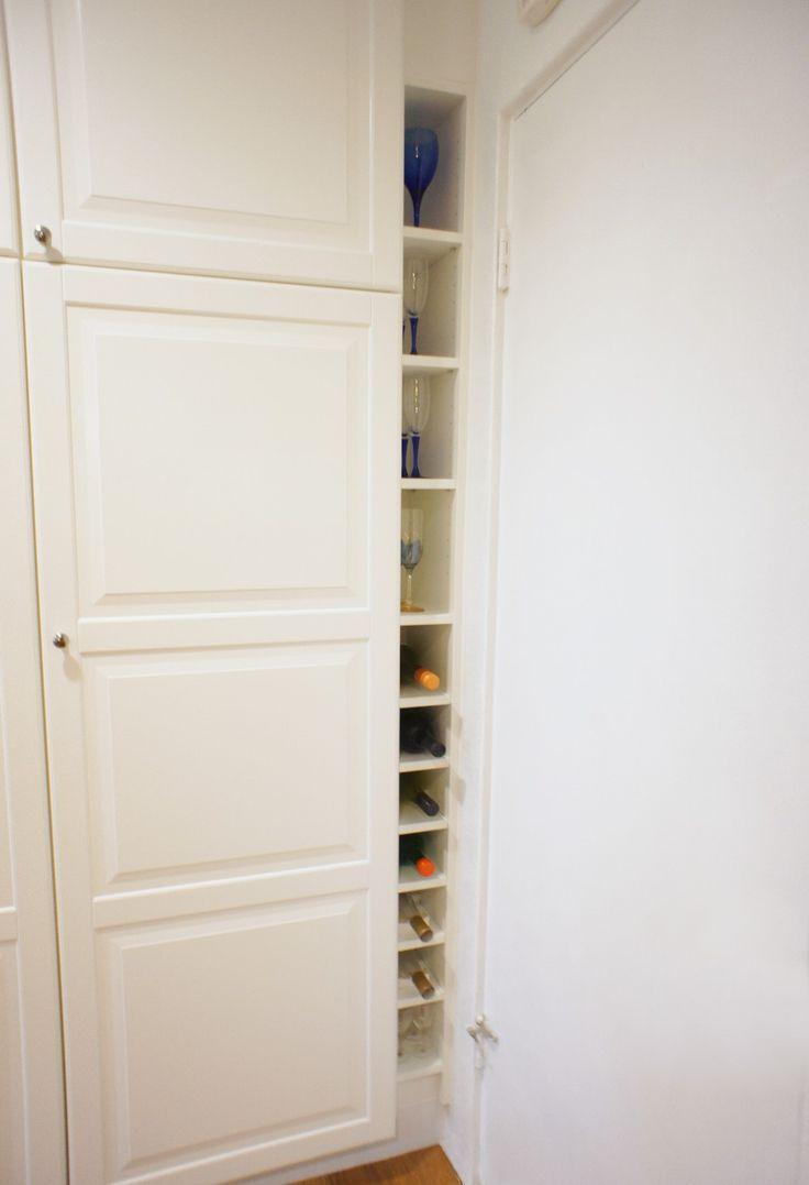 Best 25+ Wine rack cabinet ideas on Pinterest   Built in wine rack, Kitchen wine  rack inspiration and Built in bar cabinet