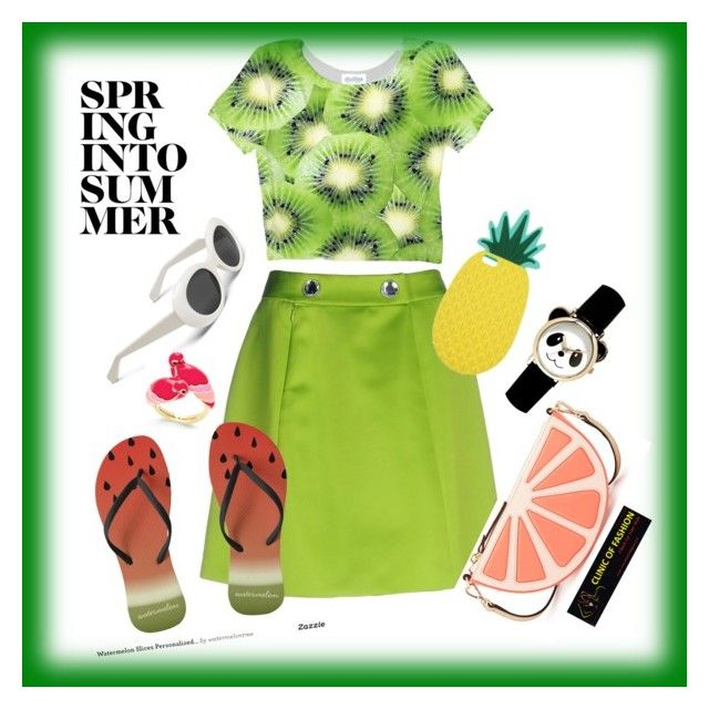 """Untitled #16"" by clinicoffashion on Polyvore featuring Moschino Cheap & Chic, Kate Spade and Miss Selfridge"
