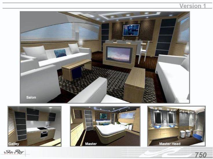 Feature: Sea Ray's New 75' Sedan Bridge - Sea Ray Yacht | YachtForums: We Know Big Boats!