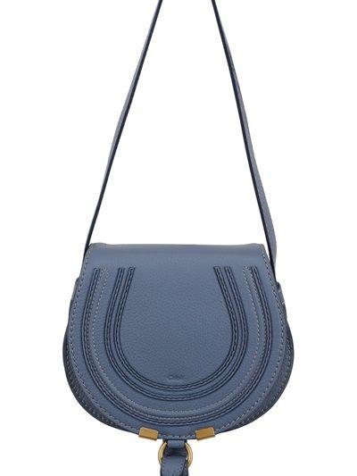 Chloe small marcie cross body bag in a beautiful shade of blue