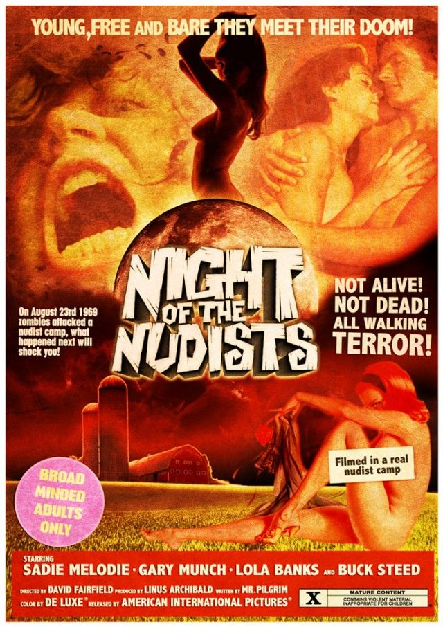 Classic Grindhouse Movie Posters | Grindhouse Poster Art - Buy Posters - Night of the Nudists