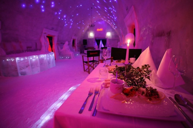 Ice Hotel - Balea Lake, ROMANIA
