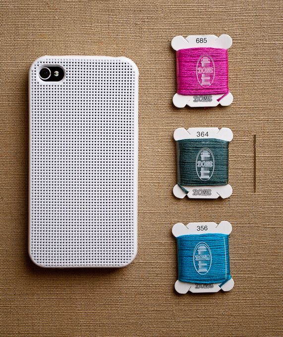 iPhone Cross Stitch Case #luvocracy #iphone #design