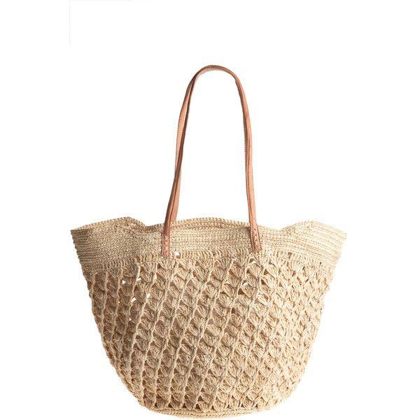 Pinterest'teki 25'den fazla en iyi Straw beach bags fikri