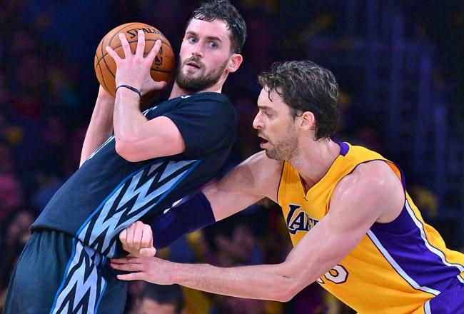 Should the Lakers trade their 1st-round pick for Kevin Love