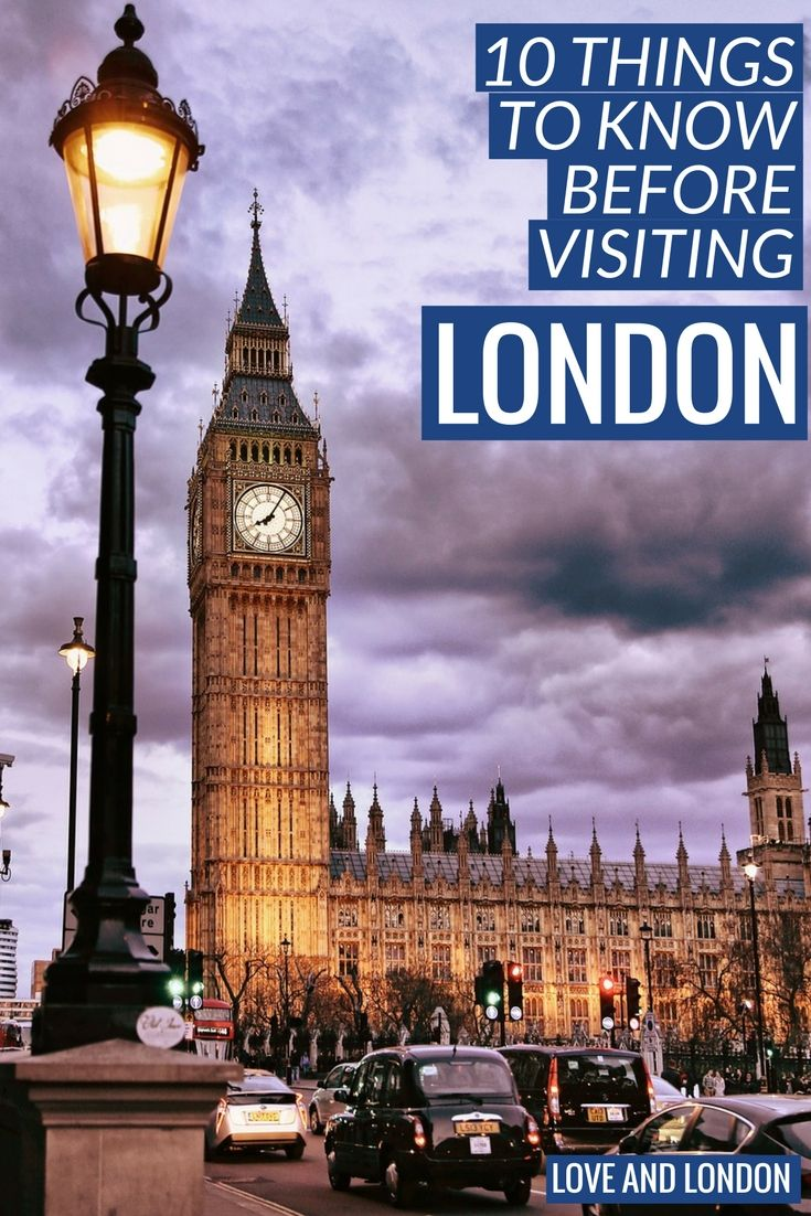10 Things to Know Before Visiting London. First time in London? These are the important things to know before you visit London.