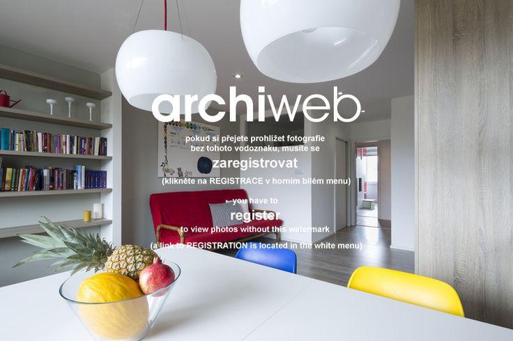 archiweb.cz - Byt s pracovnou
