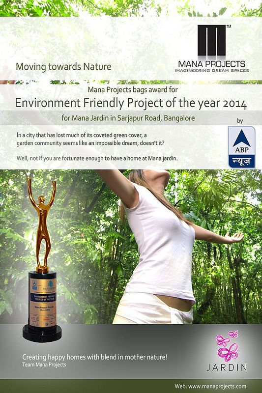 Environment Friendly Project of the Year 2014 at ABP NEWS