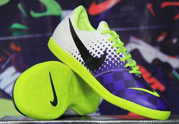 Sepatu Futsal Nike Elastico Putih Biru KW Super Rp 170.000 BB 277D5CC1 | call : 085658790893  sepatufutsalpremium.com
