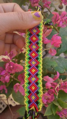 Normal Friendship Bracelet Pattern #11149 - BraceletBook.com