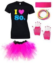 I Love the 80s Fancy Dress Outfit