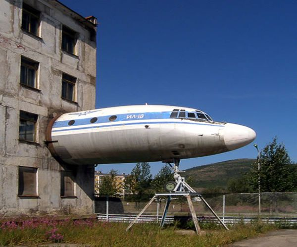 building the plane in Magadan