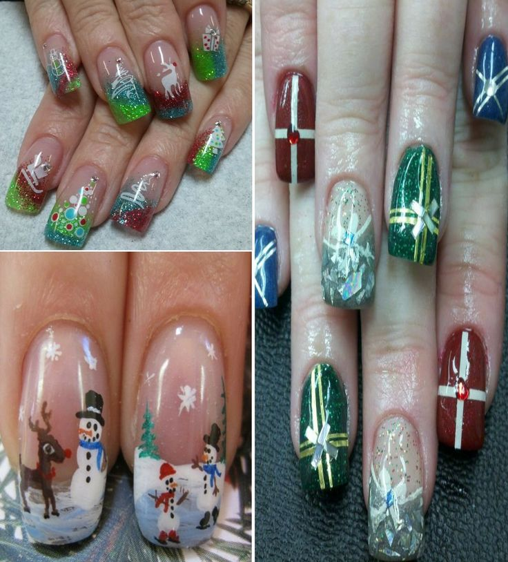 Creative nail design shellac colors|Creative nail design shellac|Best Easy  Simple Christmas Nail Art designs  Ideas|Cute christmas nail designs|Christmas nail designs video