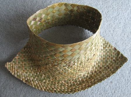 Flax Weaving - Potai - Hat