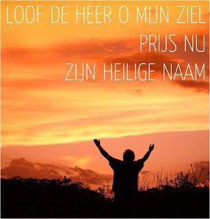 Leef je geloof: Loof en prijs God!
