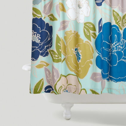 contemporary shower curtains by World Market