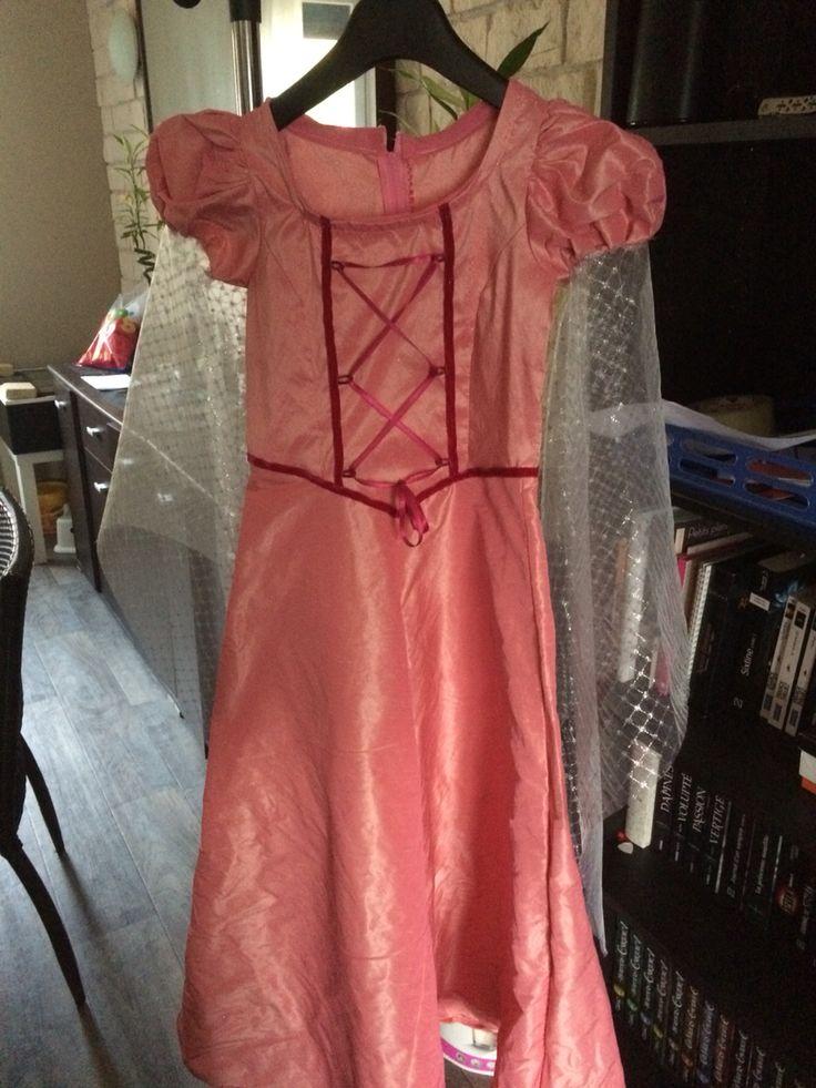Robe de princesse pour ma fille