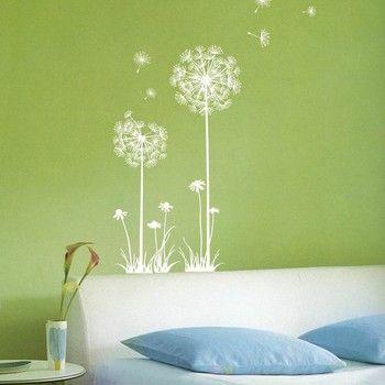 Samolepka Dandelion flowers | Bonami